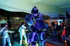 ENTRETENIMEINTO-ROBOT-LED
